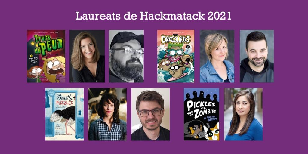 Laureats Hackmatack 2021