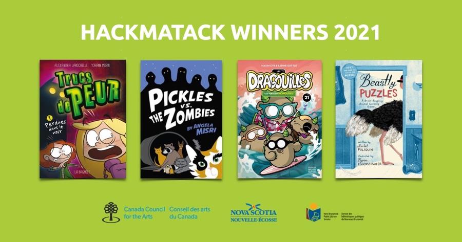 Hackmatack winners 2021 - news release