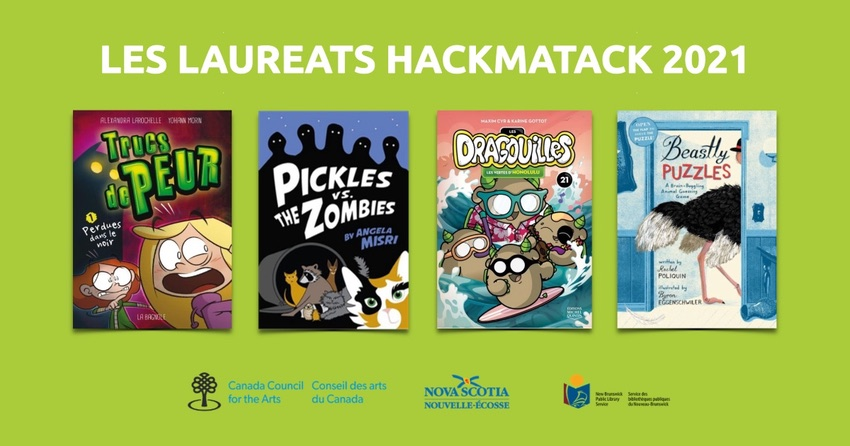 les laureats Hackmatack 2021